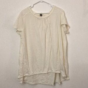 Free People Tops - Free People hi-low relaxed fit shirt